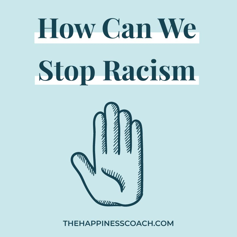 how can we stop racism image