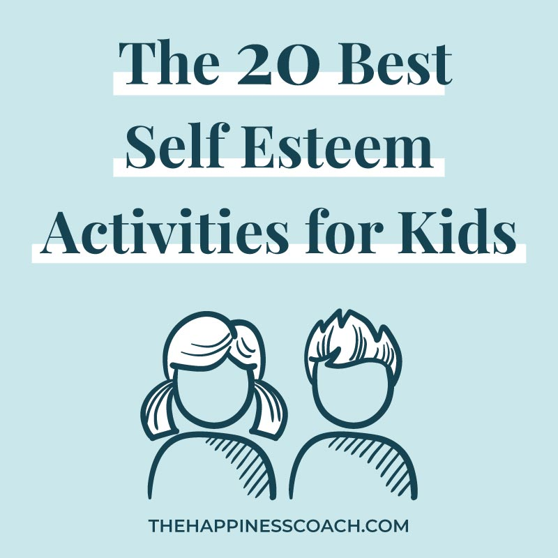 self esteem activities for kids illustration
