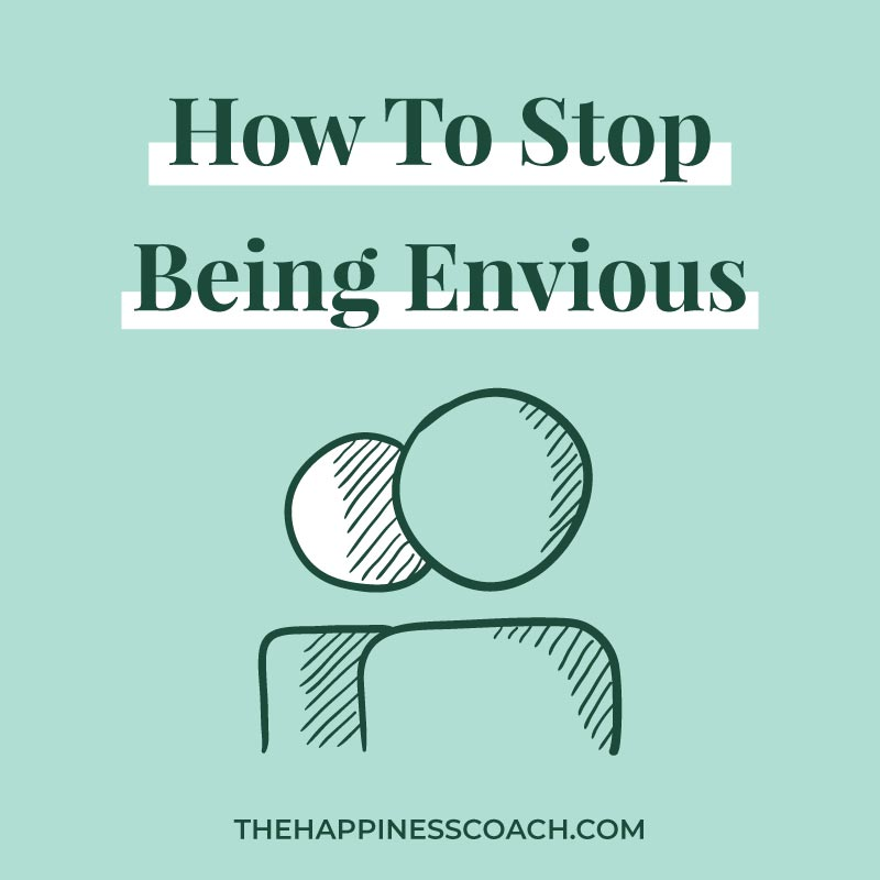 stop being envious illustration